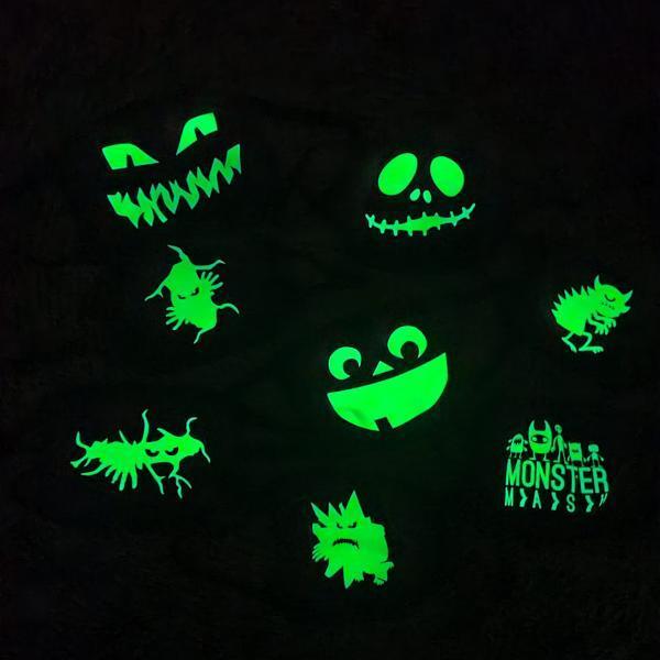 Glowinthedark mondkapjes