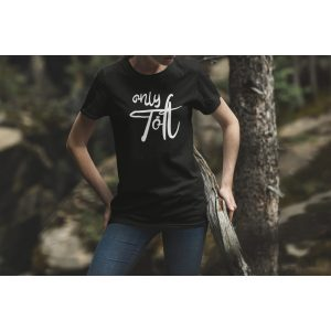 Tshirt zwart only Tölt