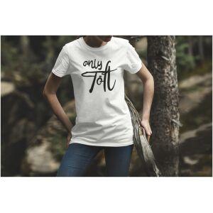 Tshirt wit only Tölt