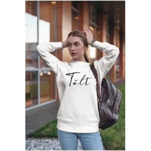 Sweater wit Ijslandse paard Tolt