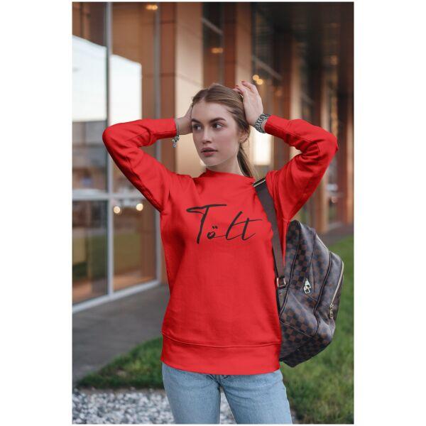 Sweater rood Ijslandse paard Tolt