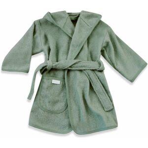 badjas oud groen met naam
