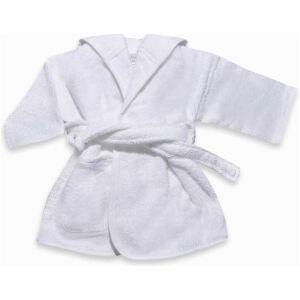 badjas met naam wit