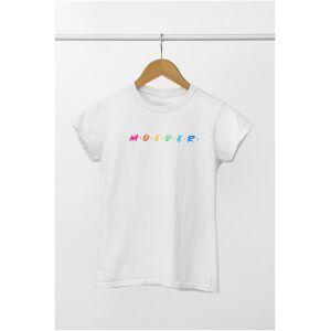 tshirt oversized moeder multi kleur