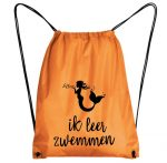 zwemtas zeemermin oranje